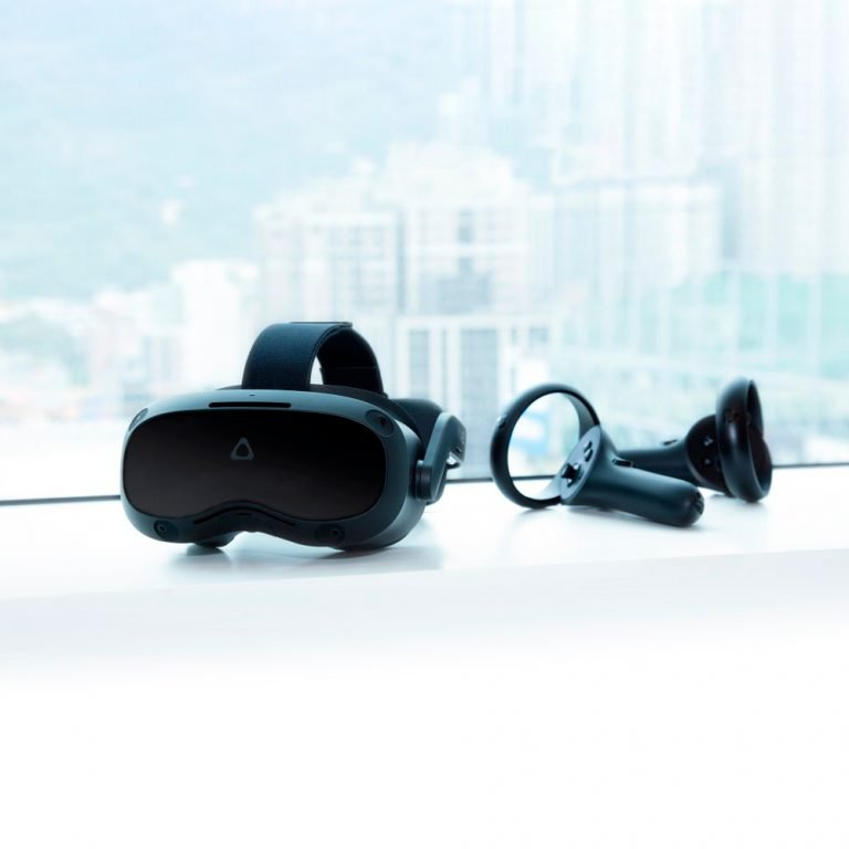 Vive Focus 3 VR headset.
