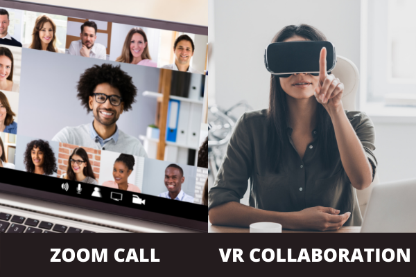 Zoom call or VR collaboration?