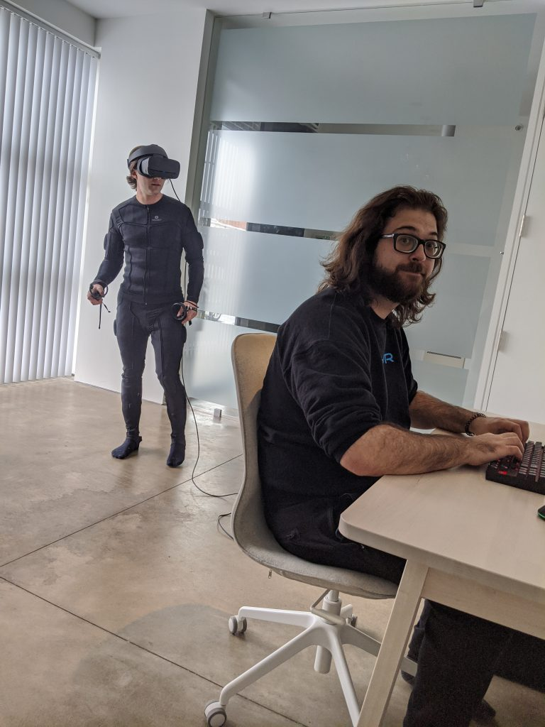 VR Consulting with the XVR team.