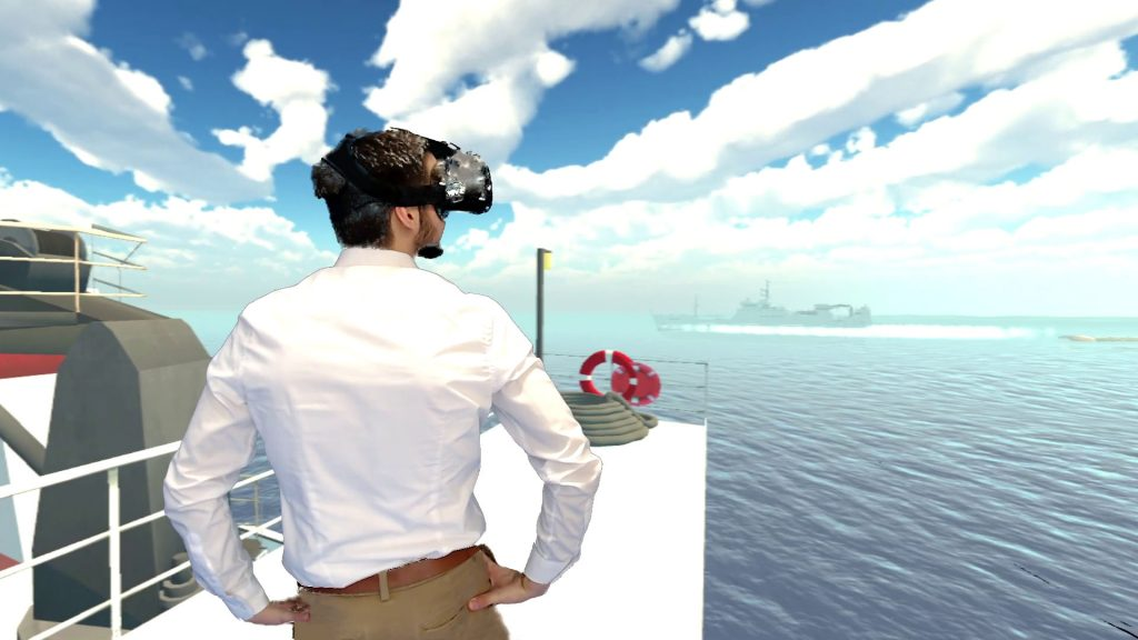 eLearning with VR.