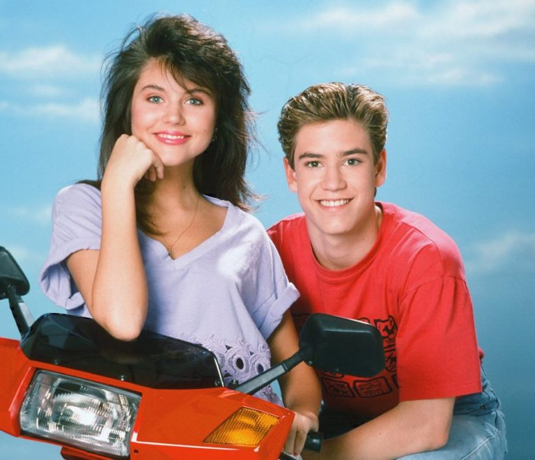Kelly and Zack Morris.